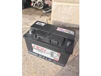 Fully charged heavy duty diesel battery