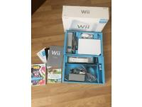 Wii console boxed with wii fit board bundle
