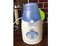 Avent baby food and bottle warmer