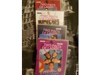 Two pints of Lager & packet if crisps Dvd bo sets