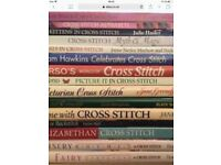 16 Cross Stitch Books