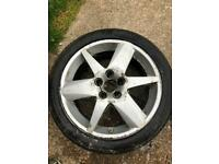 Saab alloy wheel