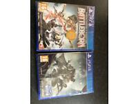 2 Sealed PS4 games