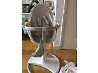 Bloom fresco baby chair white/silver
