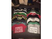 21 x toddler boys tops/tshirts 3-4 years