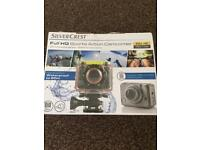 Silver crest action camera new! waterproof