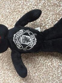 Manchester United Beanie Teddy Bear