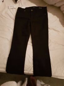 womans hugo boss jeans - size 29 inch waist /34 leg original with tags