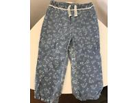 Young girls Summer pants (18-24m)