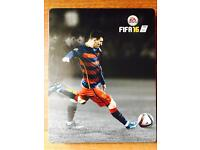 Limited edition Xbox 360 FIFA 16 metal case