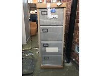 Bisley 4 drawer filing cabinets brand new