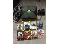 Original Xbox and 9 games