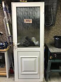 Aluminium double glazed door