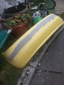 skoda fabia mk1 rear bumper unfinished project