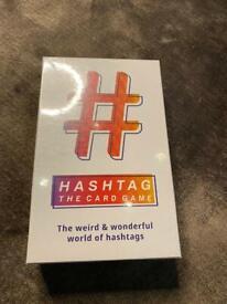 Card game hashtag