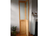 Folding internal door