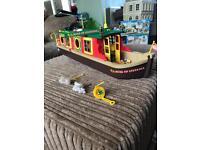 ' Sylvanian families ' Rose of sylvania canal boat