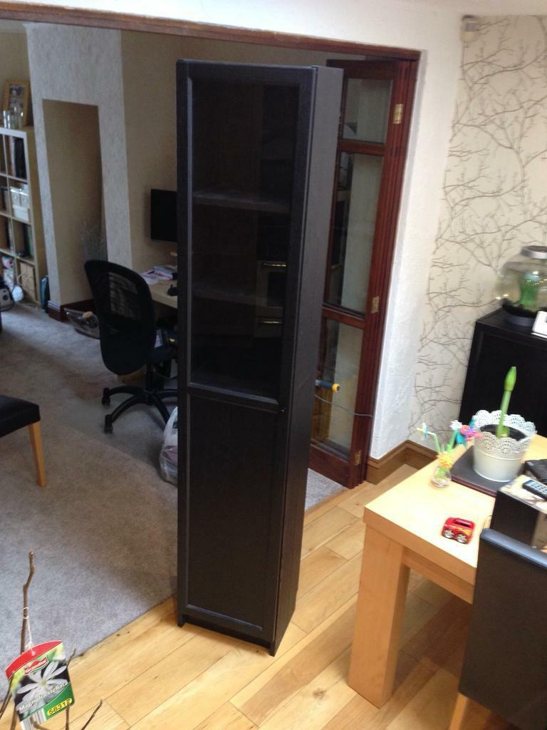 Ikea Billy Bookcase With Door 40x202x28 30 Incl Door Black Brown In Ossett West Yorkshire Gumtree