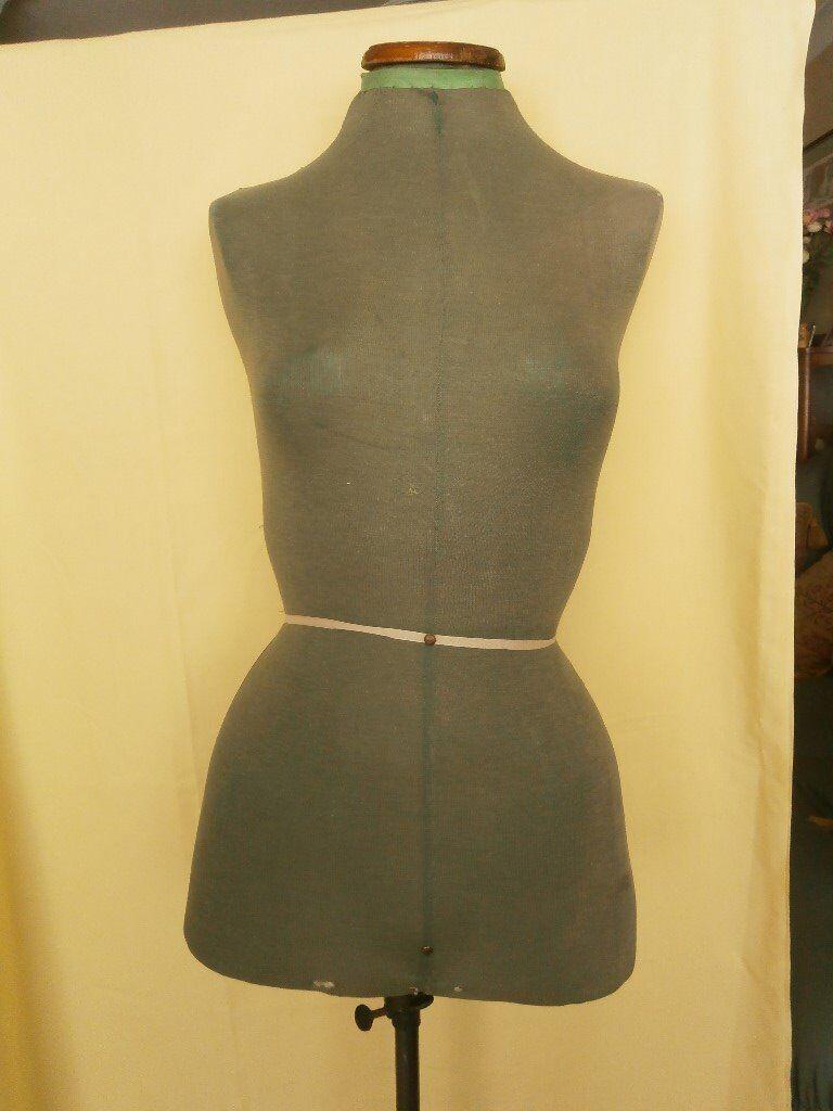 Vintage dress making mannequin