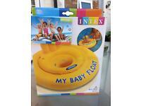 Intex swimming baby float brand new