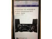 Cd stereo system 600w max jukebox
