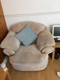 Free Three seater and two armchairs