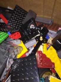 500 pieces of Lego.
