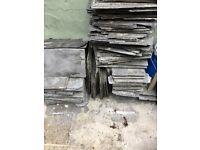Roof slates (genuine slate)