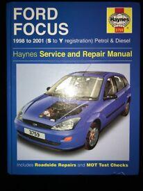 Ford Focus Haynes 1998-2001 (S to Y Registration)