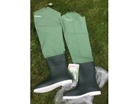 Snowbee thigh waders, never worn, size 11
