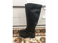 Black 6.5 Taye Boots for sale