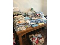 HUGE Lot of Baby Boy Clothes From Newborn to 1 Year