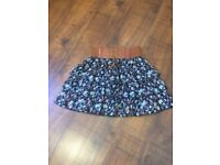 NEW LOOK 915 GIRLS SUMMER SKIRTS X 2 (AGE 12 - 13YRS)