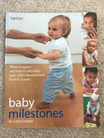 Baby Milestones Book by Dr Carol Cooper