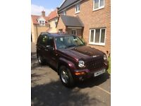 Jeep Cherokee 2.8 CRD Automatic 2004, £1750.