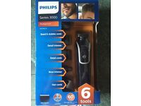 Philips series 3000 6 in one multi groom trimmer unopened