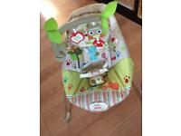 Fisher Price vibrating music baby bouncer