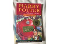 Harry potter book collection (2 first editions)