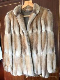 Vintage ladies fur coat