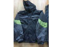 Ski jacket and sallopettes