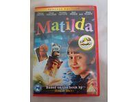 Matilda DVD 2012 Special Edition