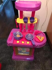 Electronic peppy pig kitchen