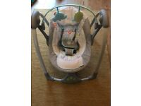 Ingenuity baby swing like new