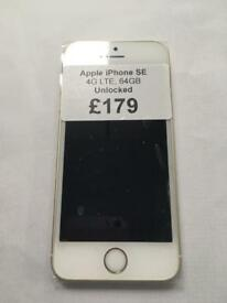 Apple iPhone SE in Gold 64GB Unlocked