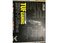 ASUS TUF Gaming X570-Plus (Wi-Fi) ATX Motherboard + AMD Ryzen 5 3600X Processor