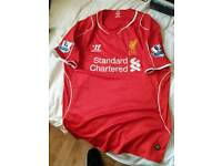 Liverpool shirt size large