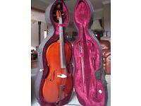 1/2 size student cello
