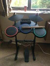 PS3 Guitar Hero Drum Kit good working condition