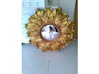 Laura Ashley Gold Mirror Gorgeous RRP 165