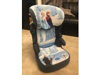Frozen car seat up to 12yrs